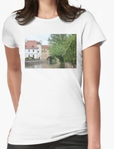 Medieval Bavarian Town Amberg Womens Fitted T-Shirt