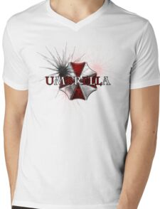 Resident Evil: Umbrella Mens V-Neck T-Shirt