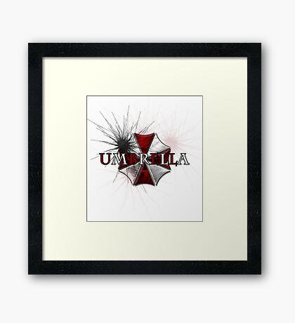 Resident Evil: Umbrella Framed Print