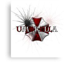 Resident Evil: Umbrella Canvas Print