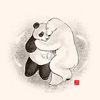 True love conquers all by Panda And Polar Bear