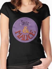 Spite and Malice Women's Fitted Scoop T-Shirt