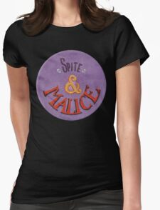 Spite and Malice Womens Fitted T-Shirt