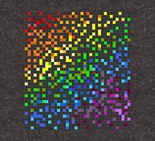 Rainbow Pixels Unisex T-Shirt