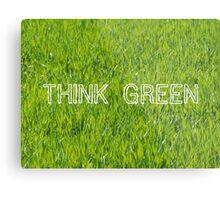 Think Green VRS2 Metal Print