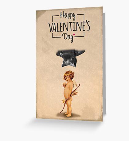 Happy Valentine's day - Die Cupid Greeting Card