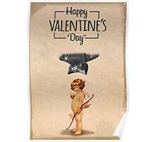 Happy Valentine's day - Die Cupid Poster
