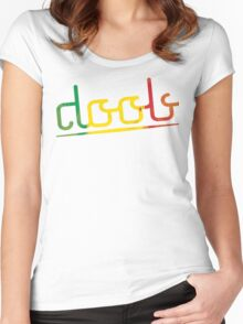 Doob Surf-Style Women's Fitted Scoop T-Shirt