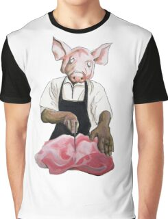 Cannibalpigsm Graphic T-Shirt