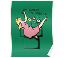 Plumber Beware Poster