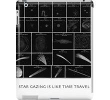 StarGazing is like time travel iPad Case/Skin