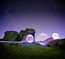 Light Spheres & Star Trails by eatsleepdesign