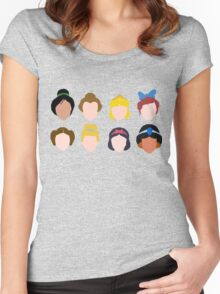 ALL of the Princesses Women's Fitted Scoop T-Shirt