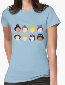 ALL of the Princesses Womens Fitted T-Shirt