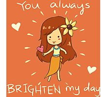 You always Brighten my day! - League Of Legends Photographic Print