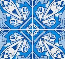 Modern Portuguese Tile Art Sticker