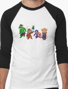 Rescuers Assemble!  Men's Baseball ¾ T-Shirt