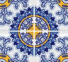 Modern Portuguese Tile Art Sticker