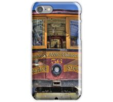 Cable Car - Van Ness and California iPhone Case/Skin