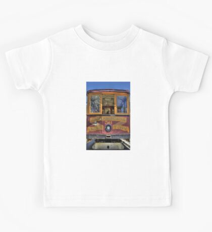Cable Car - Van Ness and California Kids Tee