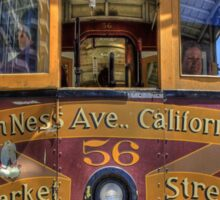 Cable Car - Van Ness and California Sticker
