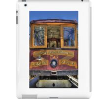 Cable Car - Van Ness and California iPad Case/Skin