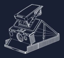 Vintage Photography - Polaroid SX-70 Blueprint by brainsontoast