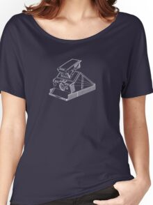 Vintage Photography - Polaroid SX-70 Blueprint Women's Relaxed Fit T-Shirt
