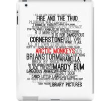 Arctic Monkeys Song Collage iPad Case/Skin