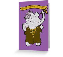 Hufflepuffalump Greeting Card