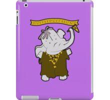 Hufflepuffalump iPad Case/Skin