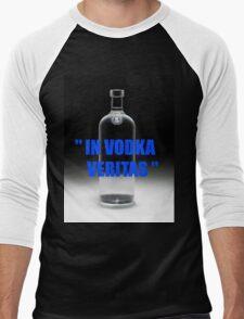 In vodka veritas Men's Baseball ¾ T-Shirt