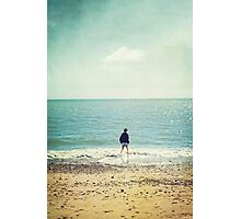 Compelled by an ocean Photographic Print