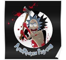 AmeRickan Psycho Poster