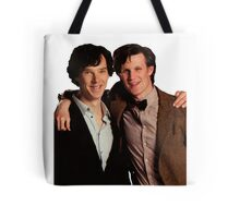 Sherlock and Eleven Tote Bag