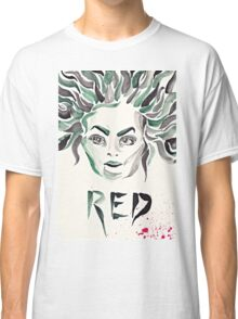 "Galina ""Red"" Reznikov (OITNB) (watercolour/aquarelle and ink) Classic T-Shirt"