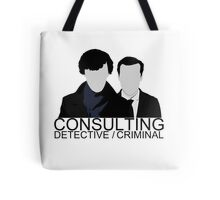 Consulting Detective/Criminal Tote Bag