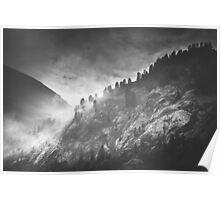 Mystic Alps I Poster