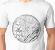 Zentangle®-Inspired Art - Tangled Zen Unisex T-Shirt