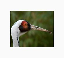 Profile Of A White-Naped Crane - (Grus vipio) Unisex T-Shirt