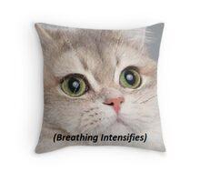 Breathing pillow  Throw Pillow