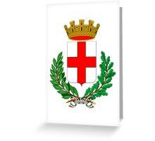 Coat of Arms of Milan  Greeting Card