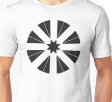Negative Bike Wheel Unisex T-Shirt