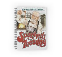 Spaghetti Tuesday - The Walking Dead Spiral Notebook