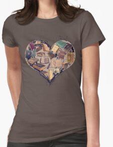 Dream with Books - Love of Reading Bookshelf T-Shirt
