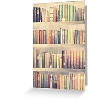 Dream with Books - Love of Reading Bookshelf Greeting Card