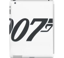 James Bond 007 iPad Case/Skin