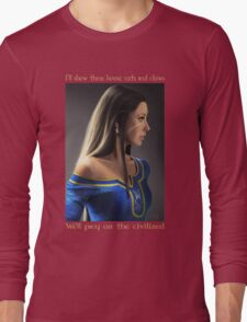 Nidalee in Demacia's court Long Sleeve T-Shirt