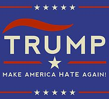Donald: Make America Hate Again!  by ridiculouis