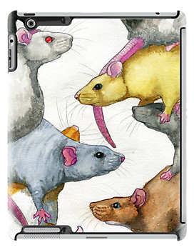 Rat Stack by MeltyMole